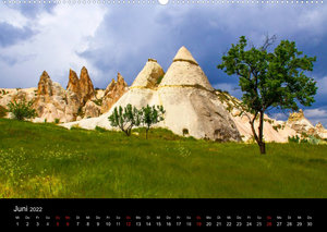 Türkei - fantastisches Kappadokien (Wandkalender 2022 DIN A2 quer)