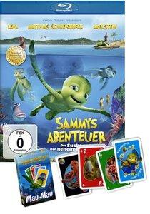 Sammys Abenteuer - Die Suche nach der geheimen Passage + Sammy Mau Mau Kartenspiel