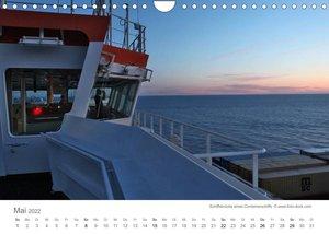 Faszination Schifffahrt  ?  An Bord um die Welt (Wandkalender 2022 DIN A4 quer)