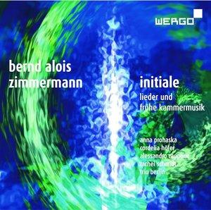 Initiale-Lieder Und Frühe Kammermusik