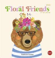 Floral Friends Postkartenkalender 2022