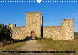 Burgen der Katharer - Unterwegs im Pays Cathare (Wandkalender 2022 DIN A4 quer)