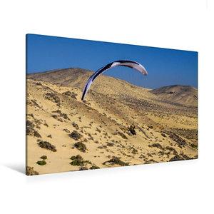 Premium Textil-Leinwand 120 cm x 80 cm quer Fuerteventura Soarin