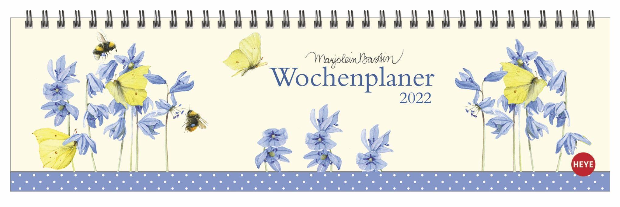 Marjolein Bastin: Wochenquerplaner Kalender 2022