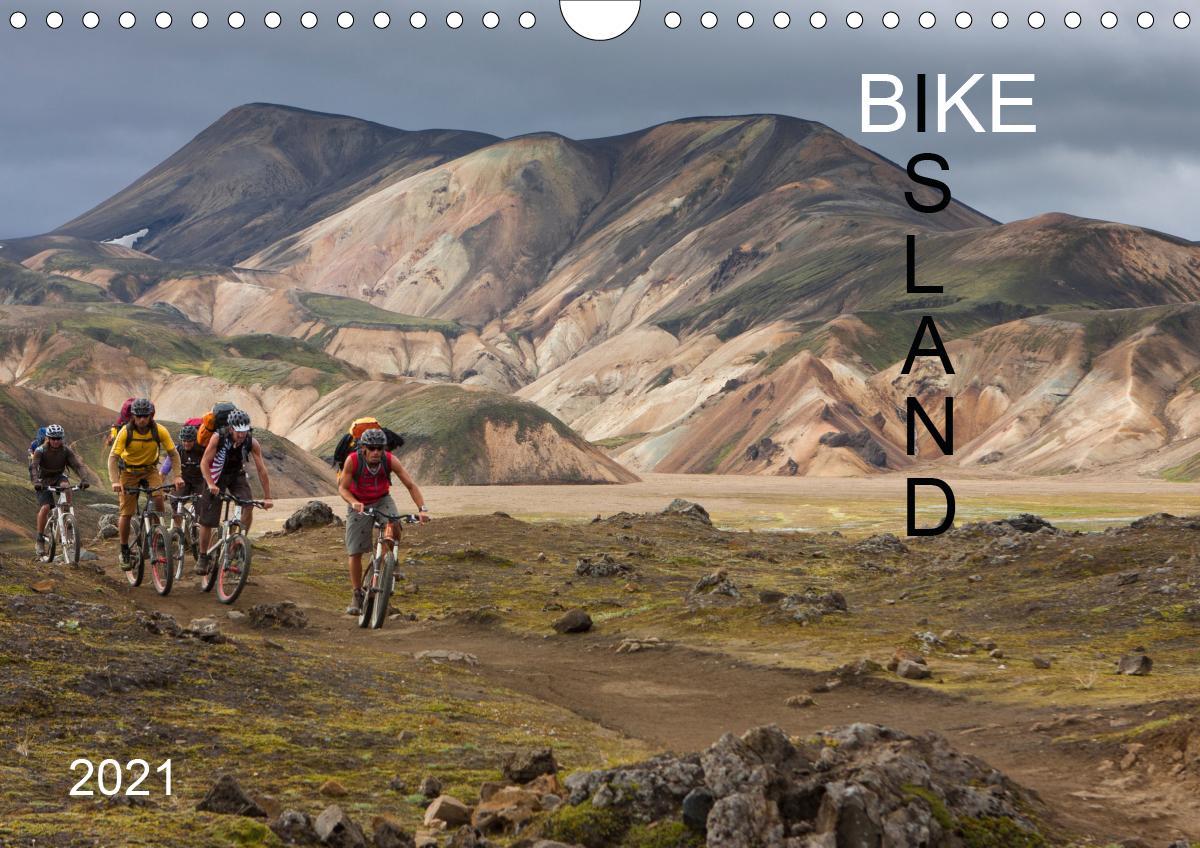 BIKE ISLAND (Wandkalender 2021 DIN A4 quer)