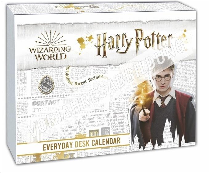 Harry Potter Tagesabreißkalender 2022
