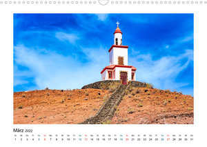 El Hierro - Insel mit allen Sinnen (Wandkalender 2022 DIN A3 quer)
