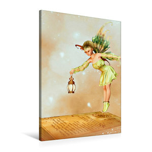 Premium Textil-Leinwand 60 cm x 90 cm hoch Das Buch