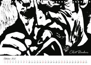 Lino Jazz (Wandkalender 2022 DIN A4 quer)