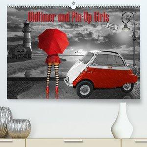 Oldtimer und Pin-Up Girls by Mausopardia (Premium, hochwertiger