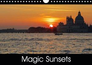 Magic Sunsets (Wall Calendar 2021 DIN A4 Landscape)