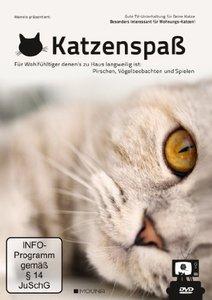 Katzenspaß - Gute TV-Unterhaltung für deine Katze, 1 DVD