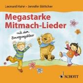 Megastarke Mitmachlieder - mit dem Bewegungsbiber - CD