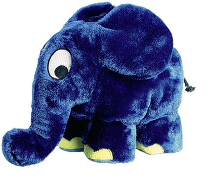 Schmidt Spiele 42189 - Elefant, Die Sendung mit der Maus, Plüsch
