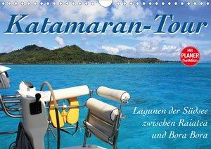 Katamaran-Tour (Wandkalender 2021 DIN A4 quer)