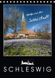 Grüße aus der Schleistadt Schleswig (Tischkalender 2021 DIN A5 h