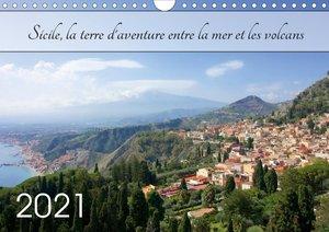 Sicile, la terre d\'aventure entre la mer et les volcans (Calend