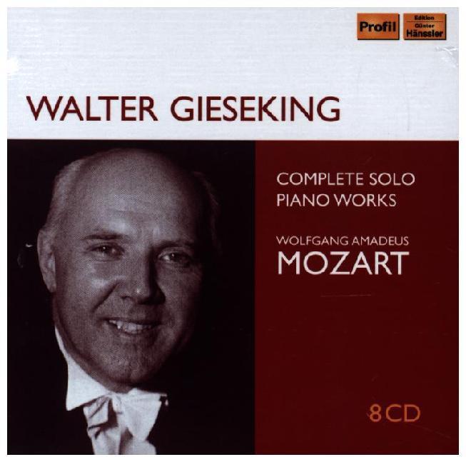 Walter Gieseking solo recordings