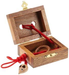Philos 6115 - Mausefalle, Seilpuzzle Knobelspiel