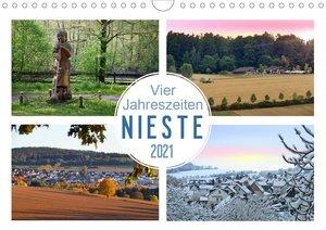 Vier Jahreszeiten, Nieste (Wandkalender 2021 DIN A4 quer)