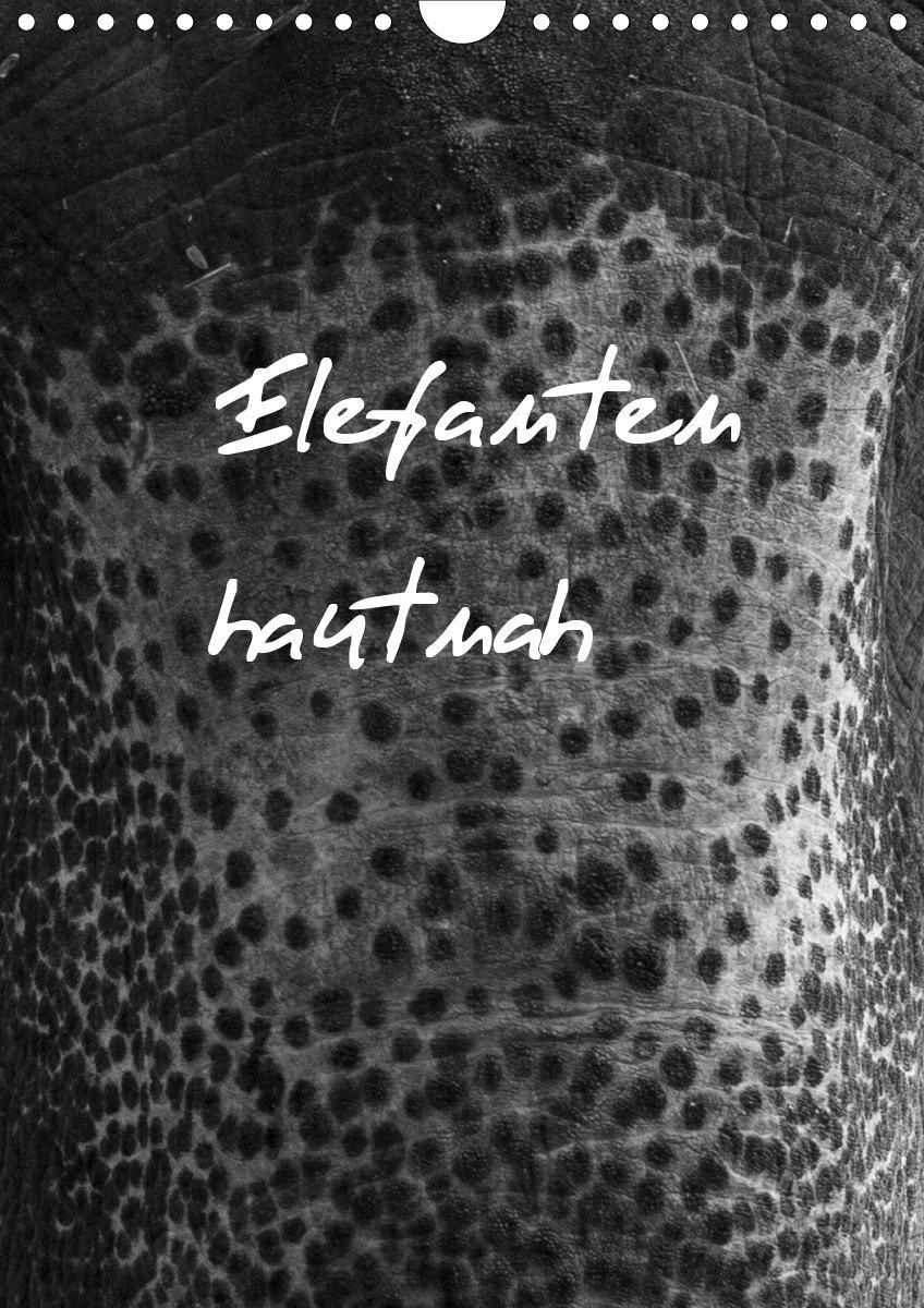 Elefanten hautnah (Wandkalender 2021 DIN A4 hoch)
