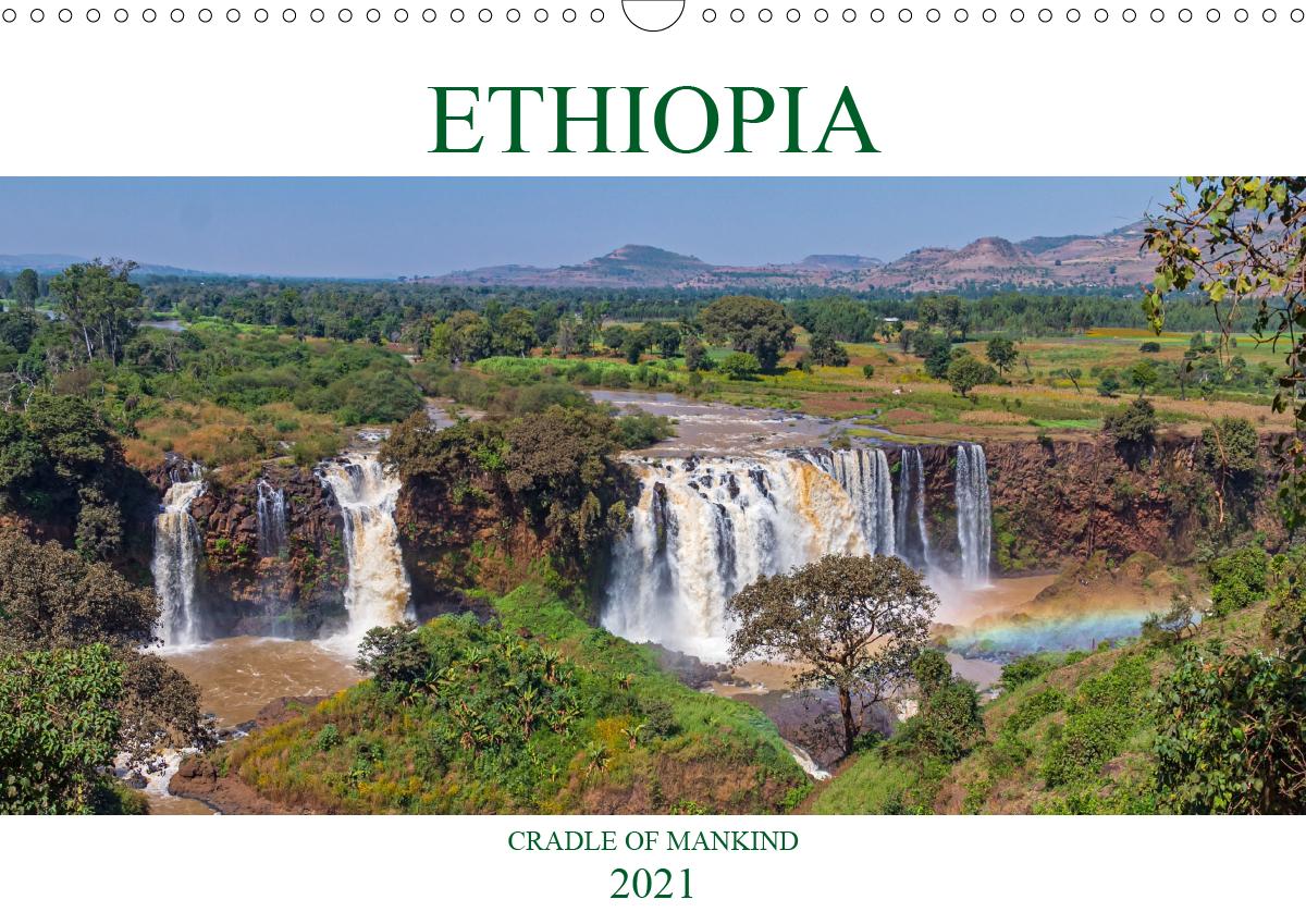 Ethiopia cradle of mankind (Wall Calendar 2021 DIN A3 Landscape)