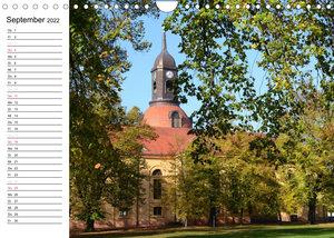 Vier Jahreszeiten im Land Brandenburg (Wandkalender 2022 DIN A4 quer)