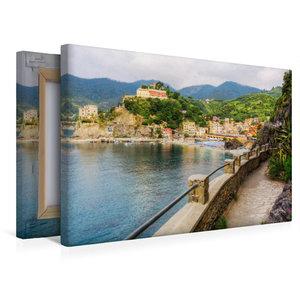 Premium Textil-Leinwand 45 cm x 30 cm quer Monterosso al Mare