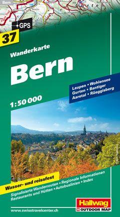 Bern Wanderkarte 1 : 50 000