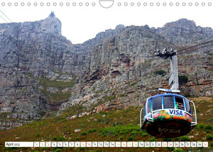 Cape Town and surrounding (Wall Calendar 2022 DIN A4 Landscape)