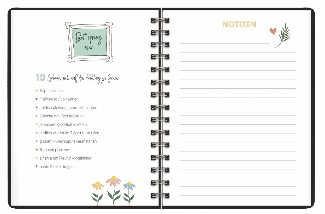 Amore Spiral-Kalenderbuch A5 Kalender 2022