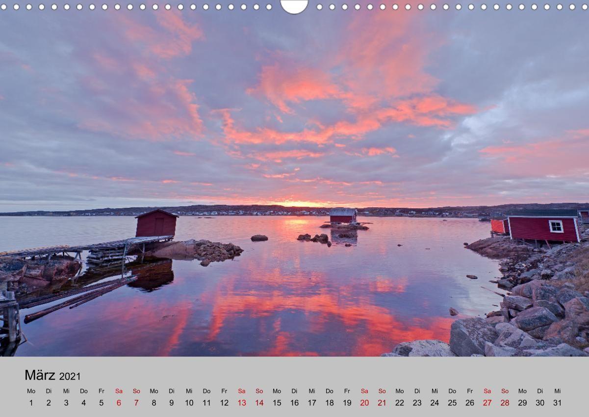 Neufundland 2021 (Wandkalender 2021 DIN A3 quer)