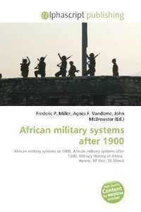 African military systems after 1900