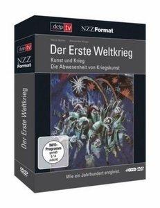 Erste Weltkrieg, Der. Kunst und Krieg / Die Abwesenheit von Kriegskunst, 4 DVDs