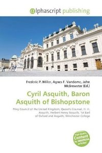 Cyril Asquith, Baron Asquith of Bishopstone