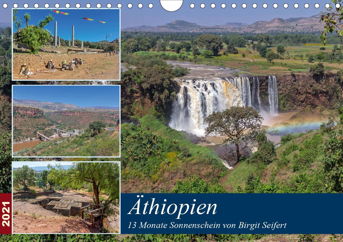 Äthiopien - 13 Monate Sonnenschein (Wandkalender 2021 DIN A4 que