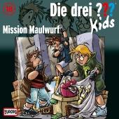 Die drei ??? Kids 18: Mission Maulwurf (Fragezeichen)