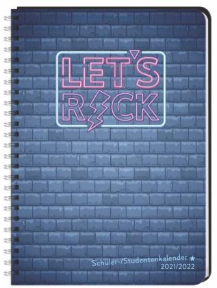 Rock Schüler-/Studentenkalender A5  - 2022