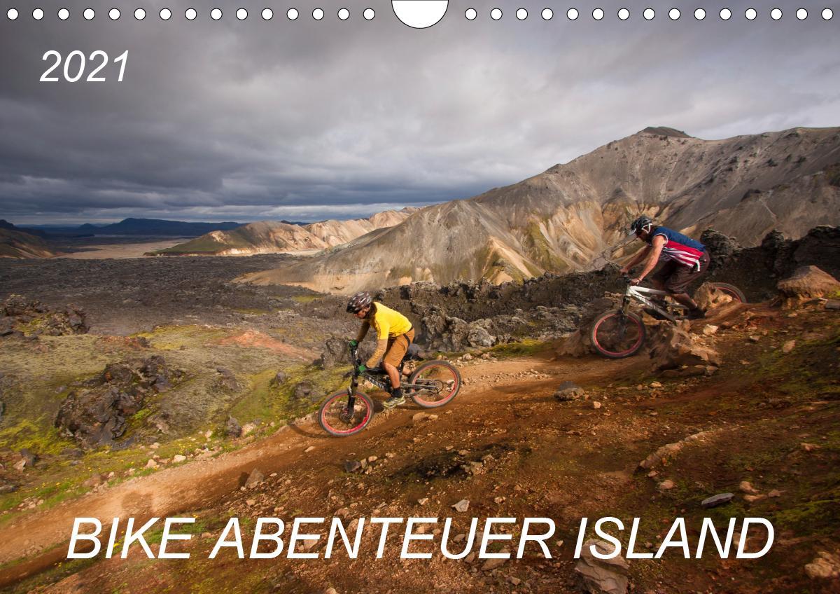 Bike Abenteuer Island (Wandkalender 2021 DIN A4 quer)