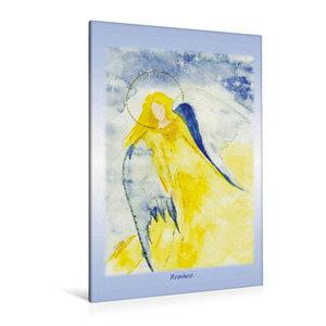 Premium Textil-Leinwand 80 cm x 120 cm  hoch Ein Motiv aus dem Posterbuch ENGEL - Lichtboten f?r die Seele