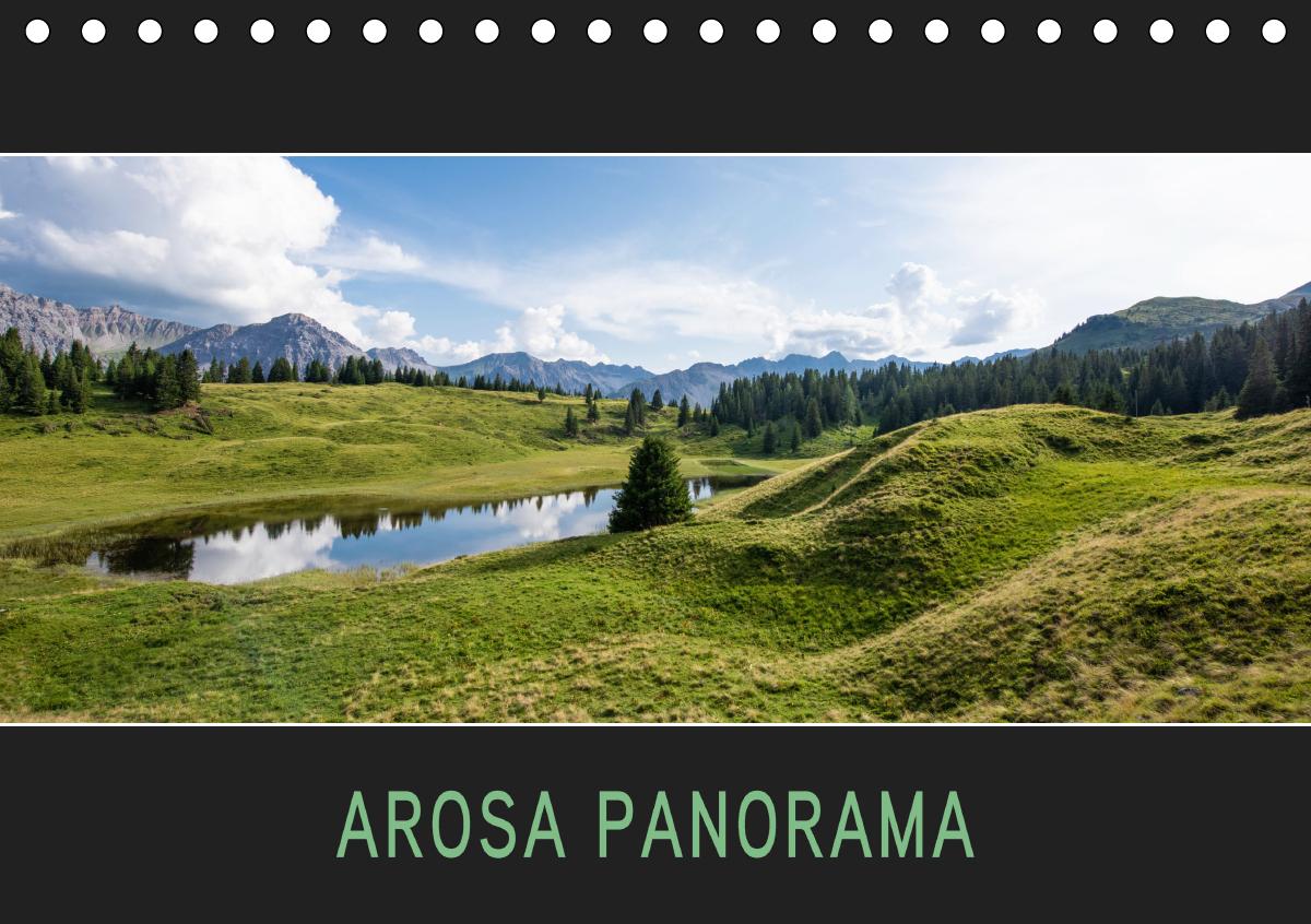 Arosa Panorama (Tischkalender 2021 DIN A5 quer)