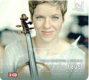 Isabelle Faust - Violinsonaten & Konzerte, 2 Audio-CDs