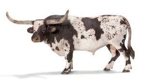 Schleich 13721 - Farm Life: Texas Longhorn Bulle