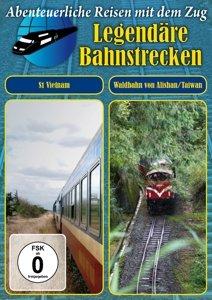 S1 Vietnam / Die Waldbahn von Alishan Taiwan, 1 DVD