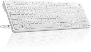 VERDANA Multimedia Keyboard, white