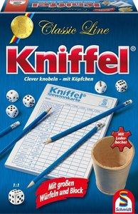 Classic Line: Kniffel mit großen Würfeln & Block