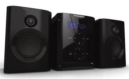 Thomson Kompaktanlage MIC100 Kompaktanlage (CD/MP3-Player, PLL-R