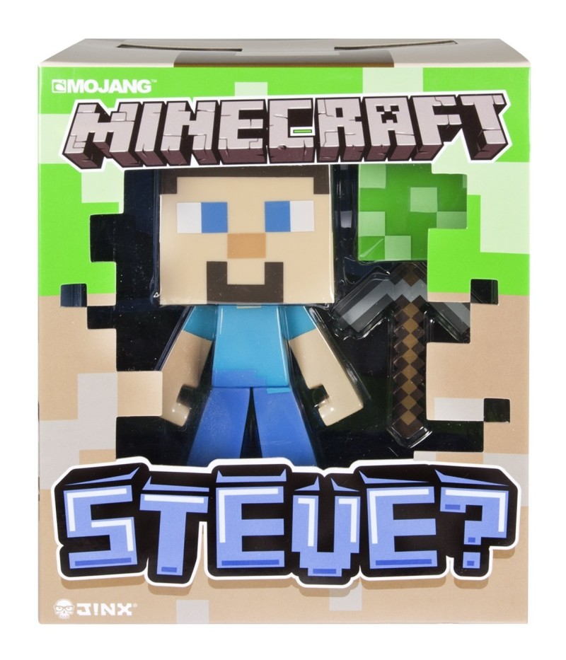 Minecraft - Vinyl Steve Figur - ca. 15 cm