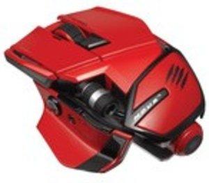 M.O.U.S. 9 Wireless Mouse, Maus, rot