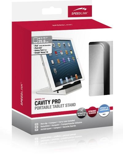 Speedlink SL-7118-BKSR CAVITY PRO Portable Tablet Stand, Tablet-